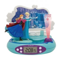 Frozen Projector Radio Alarm Clock