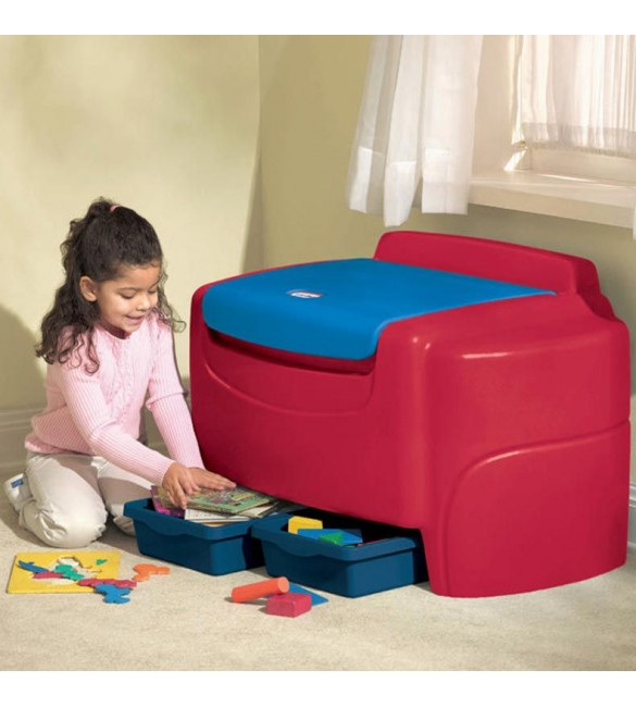 Sort 'n Store Primary Colors Toy Chest