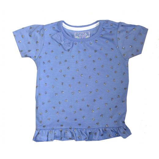 Primark Heart Elegant & Unique T-Shirt - (Blue)