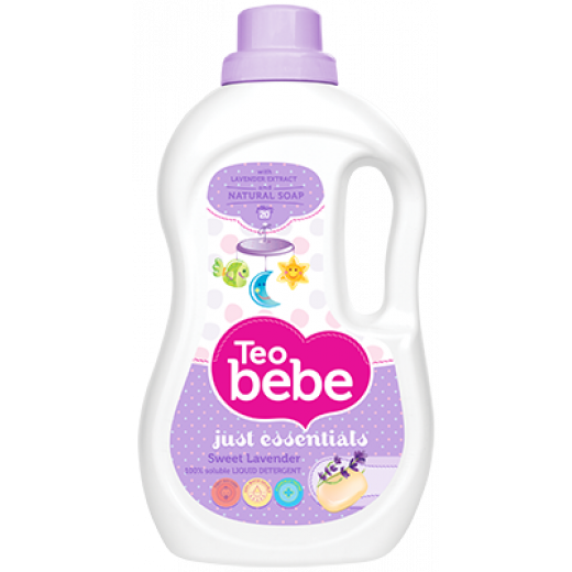 Teo Bebe Detergent And Fabric Softener 1.3 liter (Lavender)