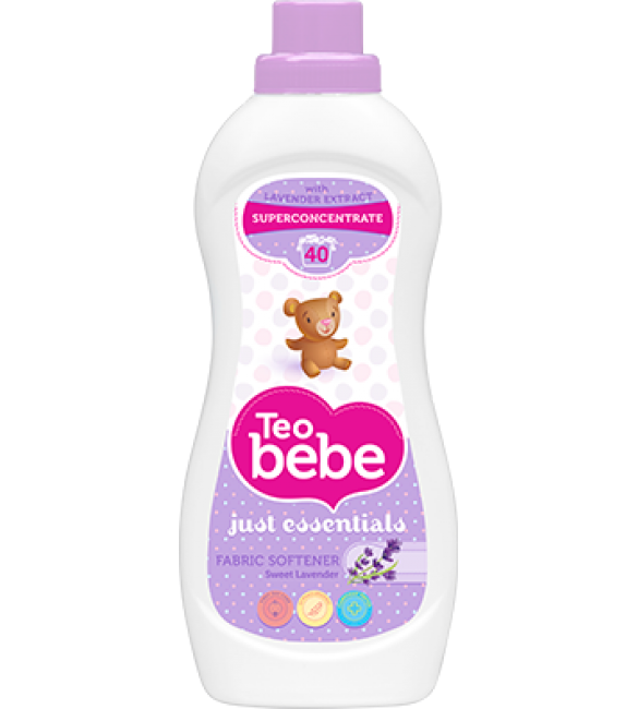 Teo Bebe Detergent And Fabric Softener 1 Liter (Lavender)