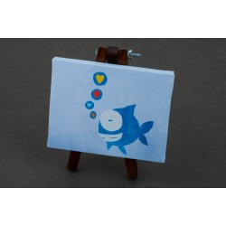 Canvases - Happy Fish - Hope Shop By KHCF