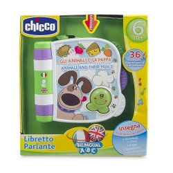 Chicco Animals and Their Friends Talking Book (Italian/English)