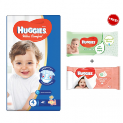 Huggies Jumbo Diapers Size Size (4) 1X3 Wipes Offer