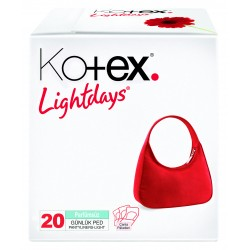 Kotex Lightdays  Lavender 20X24