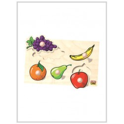Edu Fun Big Knobs Fruit Puzzle