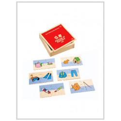 Edu Fun Self Correcting Puzzles (Match it puzzle)