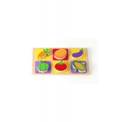 Edu Fun  chunky puzzle vegetables
