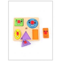 Edu Fun Funny shapes board