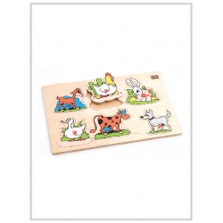 Edu Fun Insert Boards (Farm animals)