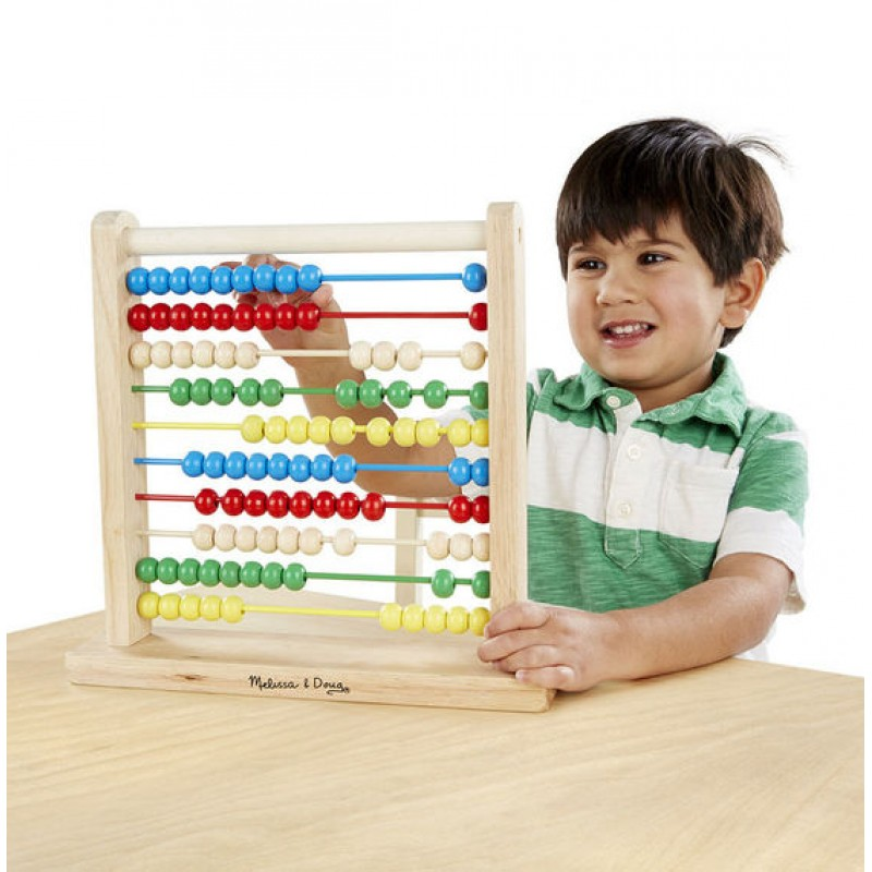 Classic Educational Toys : Melissa doug abacus classic and