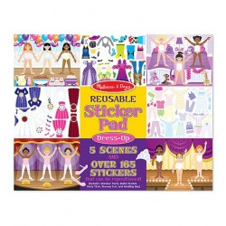 Melissa & Doug Reusable Sticker Pad - Dress-Up