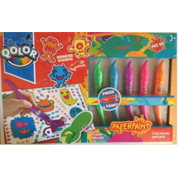 Qolor Paper Paint Crazy Monster Paint Party