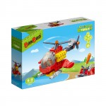 Banbao Learning Tools Helicopter 18 Pcs