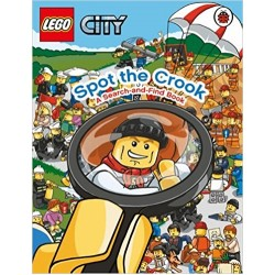 Lego City: Spot the Crook: A Search and Find Book