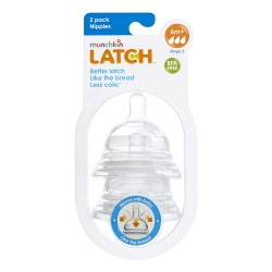 Munchkin Latch Nipples Stage 3  - 2 Pack