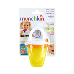 Munchkin Deluxe Fresh Food Feeder (Yellow/Orange)