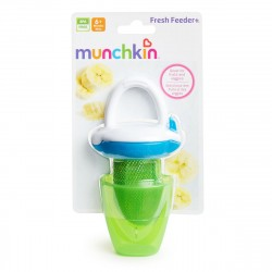 Munchkin Deluxe Fresh Food Feeder (Green/Blue)