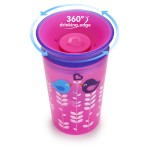 Munchkin Miracle 360° Deco Sippy Cup - 9oz (Pink Bird)