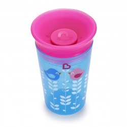 Munchkin Miracle 360° Deco Sippy Cup - 9oz (Blue Bird)