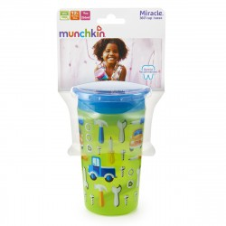Munchkin Miracle 360° Deco Sippy Cup - 9oz (Green Car)