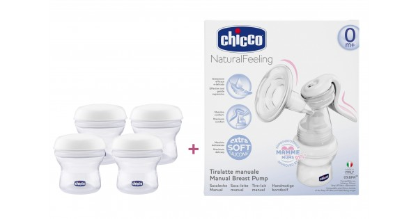 chicco manual breast pump amp milk containers offerchicco