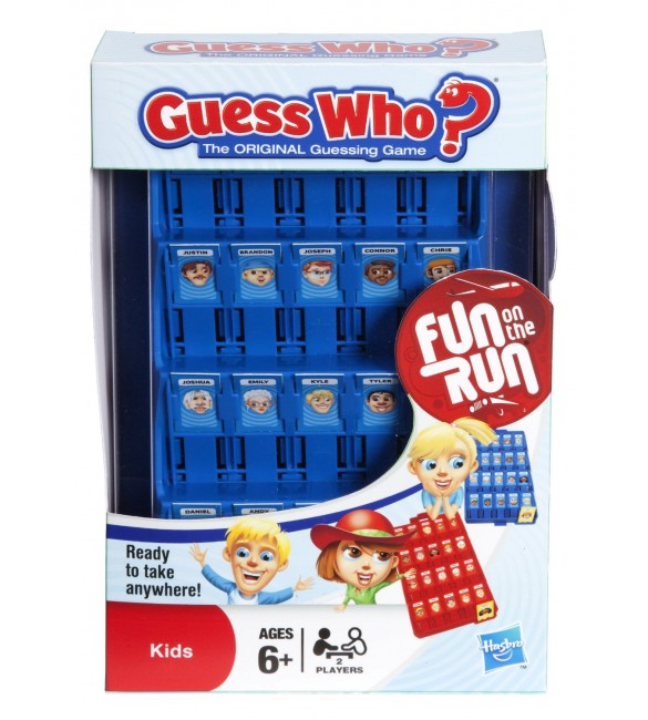 Guess Who Travel Board Game