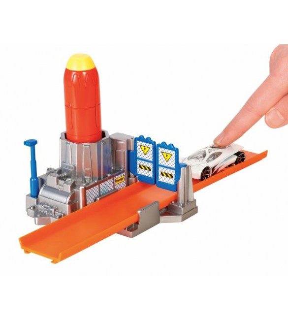 Hot Wheels Track Builder Rocket Launcher Stunt Pack