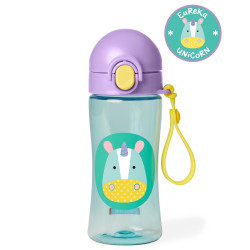 Skip Hop Zoo Lock-Top Unicorn Sports Bottles