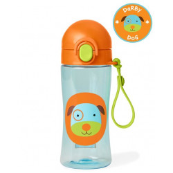 Skip hop Zoo lock-top Dog sports bottle