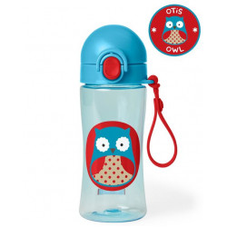 Skip Hop Zoo Lock-Top Owl Sports Bottles