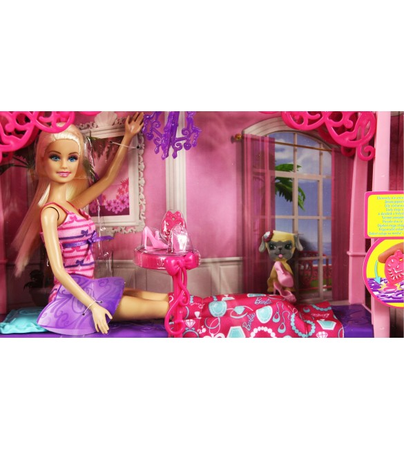 home girls 39 toys dolls barbie glam bedroom furniture and doll set