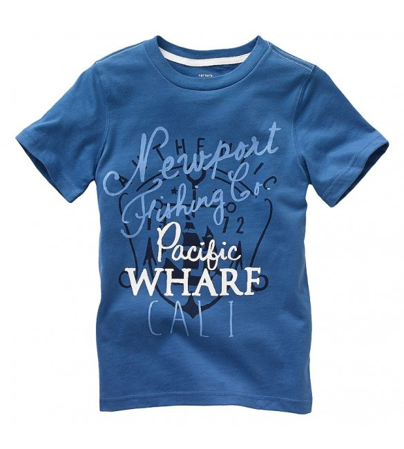 Carter's Pacific Wharf Graphic Tee. 12 Months