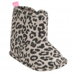Carter's Soft-Sole Sparkle Animal Print Boots - 6-9 Months