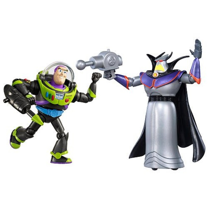 Toy Story Space Mission Action Figure 2 Pack Buzz Light year Zurg