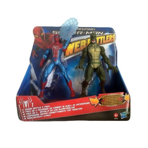 The Amazing Spider-man web Battlers- Sewer battle 2 pack