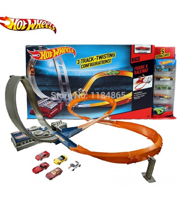 Hot Wheels Triple Track Twister Track Set