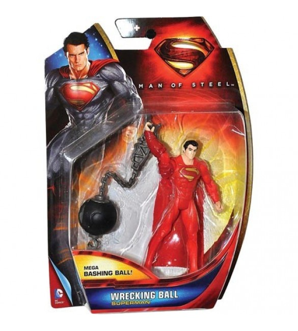 SUPERMAN action figure -wrecking ball