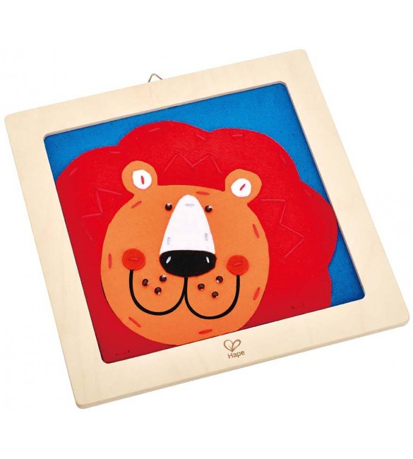 Hape Crafts - Laughing Lion Embroidery Kit