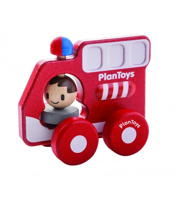 Plan Toys Fire Truck Min Vehicle