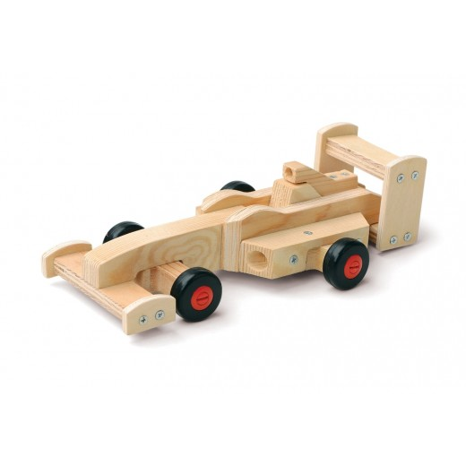 Red Tool Box Racing Car Building Kit