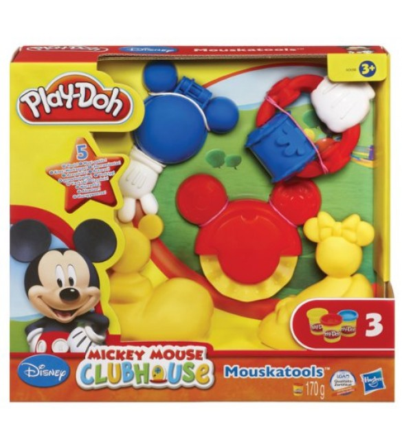 Play Doh Mickey Mouse Clubhouse Mouskatools Kit