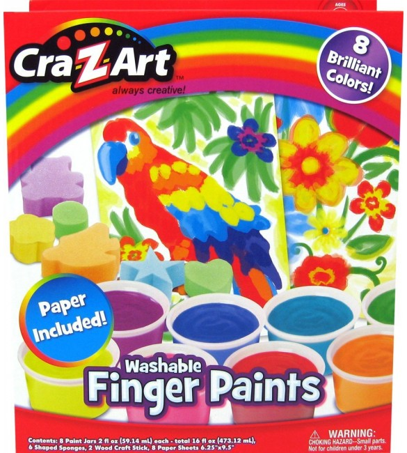 Cra-Z-Art Finger Paint Set