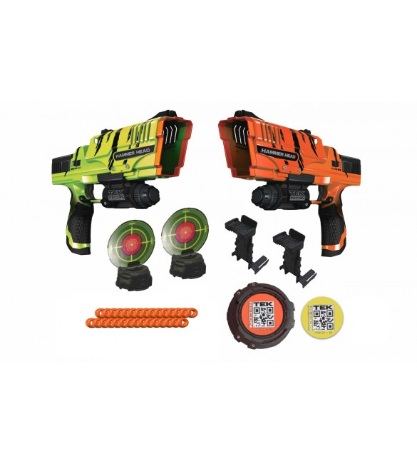 Tek Recon Hammer Head Battel Pack - 2 blasters, 2 targets and flag included