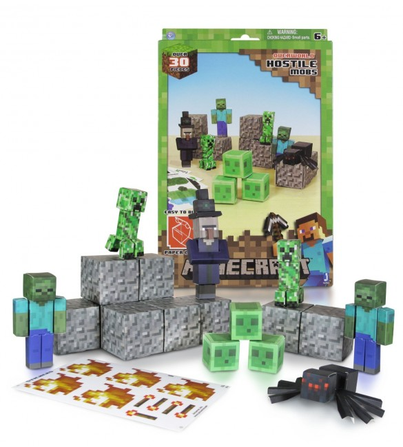 Minecraft Papercraft - Hostile Mobs