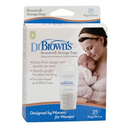 Dr. Brown's Breast Milk Storage Bag 25 Pieces