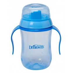 Dr. Brown's Soft Spout Transition Cup 6m+ - Blue