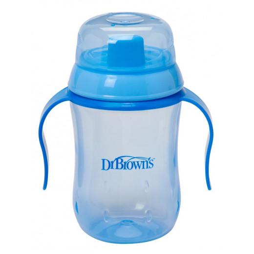 Dr. Brown's Soft Spout Transition Cup 6m+ - Blue