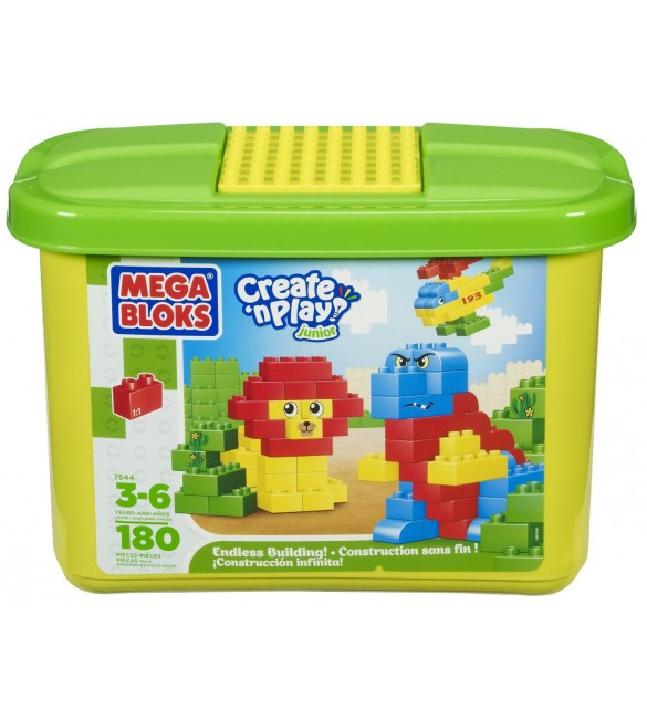 Mega Bloks Junior Builders Endless Building Value Tub