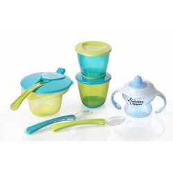 Tommee Tippee Explora Weaning Kit (Blue) - Offer!
